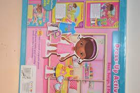junior doc mcstuffins dress up activity set read design play new