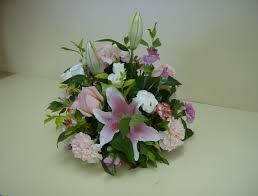 floral baskets and flower arrangements