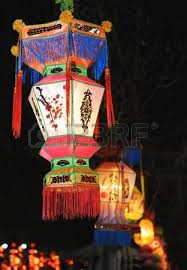 luck lanterns lanterns with letters printed it brings luck