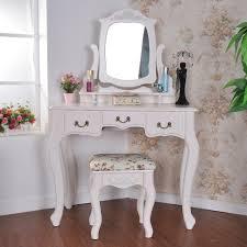 bedroom furniture sets vanity set with mirror corner stool