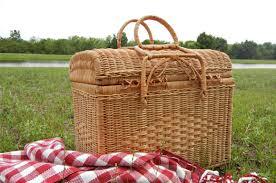 vintage picnic basket etsy finds vintage picnic baskets at home with vallee