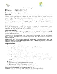 Resume Sample With Picture by Landscape Technician Cover Letter