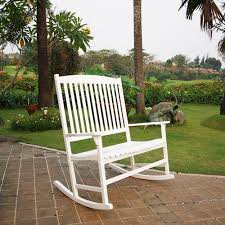 Outdoor Furniture Rocking Chair by Mainstays Outdoor Double Rocking Chair White Seats 2 Walmart Com