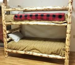 Log Bunk Bed Plans Log Bunk Beds Log Cabin Bunk Bed Plans Holidaysale Club