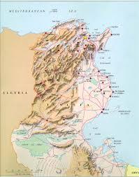 tunisia physical map tunisia map tunisia mappery