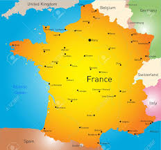 France On World Map by Vector Color Map Of France Country Royalty Free Cliparts Vectors