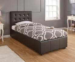 Single Ottoman Storage Bed by Royal Black Single Ottoman Storage Bed Frame