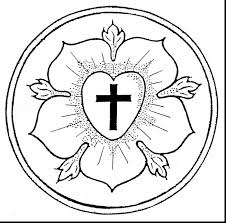 magnificent martin luther rose coloring page with martin luther