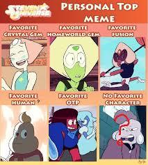 Steven Universe Memes - steven universe personal top meme by drake vire on deviantart