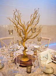 manzanita tree centerpiece 30 glittered manzanita gold centerpiece for wedding party event