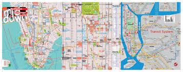 Downtown Manhattan Map Terramaps Nyc Manhattan Street And Subway Map Waterproof Ar