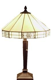 White Table Lamp Tiffany Style Mission Style White Table Lamp Craftsman Table