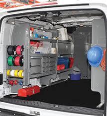 Cargo Van Shelves by Adrian Steel Dejana Truck U0026 Utility Equipment