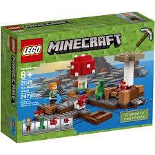 minecraft lego sets