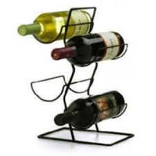 anchor hocking 4 bottle wire wine rack holiday ready sale sale
