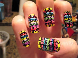 puzzle nail art nail art gallery