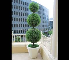 outdoor artificial topiary boxwood commercial silk int