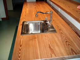 custom solid wood reclaimed antique longleaf pine counter top with
