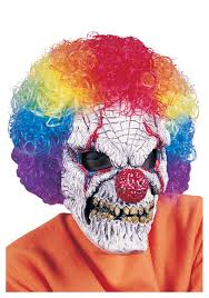 scary clown skull mask scary halloween costume mask