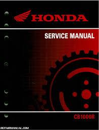 2011 2015 honda cb1000r motorcycle service manual 61mfn04 ebay