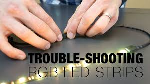 cyron led light strips how to trouble shoot multi color led strip lights youtube