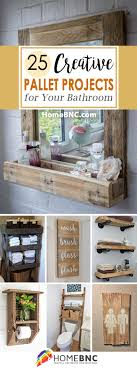 kitchen cabinets made out of pallet wood 25 best bathroom pallet projects ideas and designs for 2021