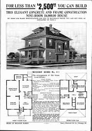 sears homes floor plans sears house plans fresh architectures four square house plans