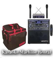 karaoke machine rental dj equipments party rack party rental in glendale