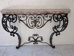 Iron Console Table Iron Console Table Style Attractive Iron Console Table