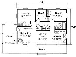 3 bedroom cabin plans house plan 20003 at familyhomeplanscom 3 bedroom cabin floor