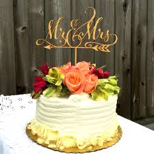 mrs mrs cake topper mr mrs with arrow wedding cake topper woodword design studio