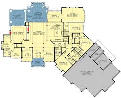 one level open floor house plans plan 23568jd amazing one level craftsman house plan