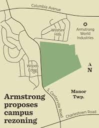 Armstrong Campus Map Armstrong Rezoning Of 124 Acres In Manor Township Could Allow For