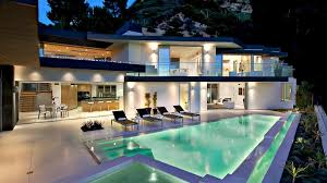 sophisticated contemporary hollywood hills luxury residence in los