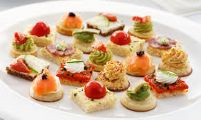 canapé cocktail canapes cerca con food ideas recipes to try