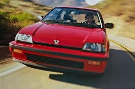 honda civic crowned top car feature flashback 1986 honda civic si motor trend
