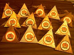 thanksgiving table favors by kindeld cards and paper crafts at