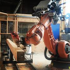 black friday chainsaw deals robot cutting japanese joinery with chainsaw hookepark