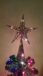 lighted capiz star tree topper 10 lighted capiz shell 8point gold star christmas tree topper clear