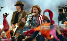jon bon jovi performs as part of the halftime show pictures