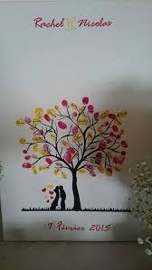 ton encreur mariage les 56 meilleures images du tableau livre d or arbre à empreinte