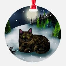 cat ornament cafepress