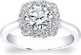 cushion halo engagement rings coast cushion halo engagement ring lc5254