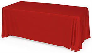 tablecloth for 6 foot folding table red table drapes 6 foot cover