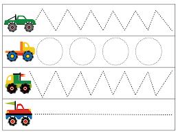 living worldsapart wheel m is for monster truck prek