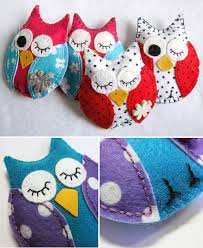 Hand Crafts For Kids To Make - my week in felt owl crafts sewing projects and owl