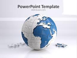 Free Powerpoint Templates Slidesbase Puzzle Powerpoint Template Free