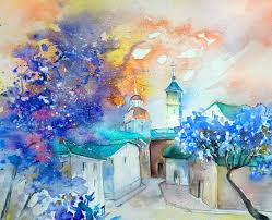 paint places creating impressions of places the colourful travel paintings of