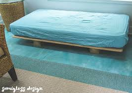 day bed plans how to build the easiest diy daybed ever semigloss design