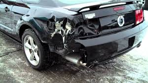 Black 2009 Mustang Gt 2009 Ford Mustang Gt Stock Number 4292 Repairable Damaged